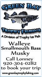 Trophy Ice Fishing - Sturgeon Bay Area