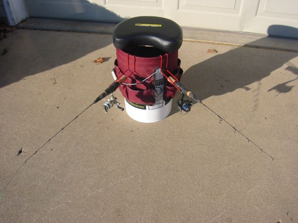 Chicago fishing reports chicago fishing forums view for Fishing bucket seat