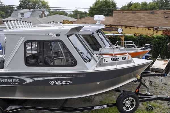 Calumet marine hewescraft 210 sea runner build