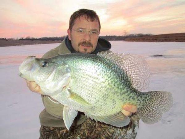 Crappie fish record for Pa fish records