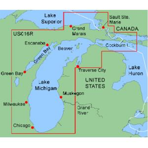 Lake Michigan On Us Map Michigan Map - Michigan us map