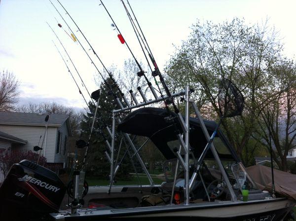 Fish On Verus Great Lakes Planer Rocket Launchers