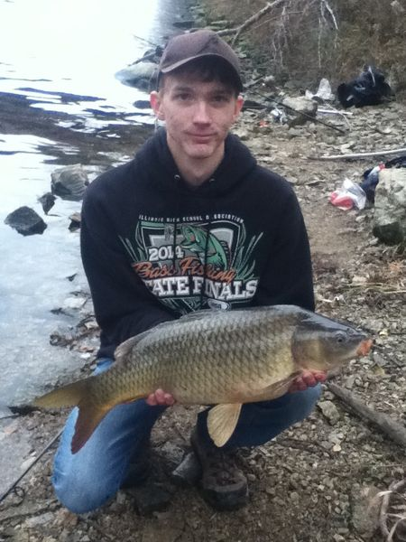 Took advantage of the warm weekend chicago illinois for Evergreen lake fishing report